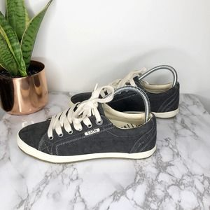 TAOS | Sneakers Star Canvas Charcoal Gray Shoes 7